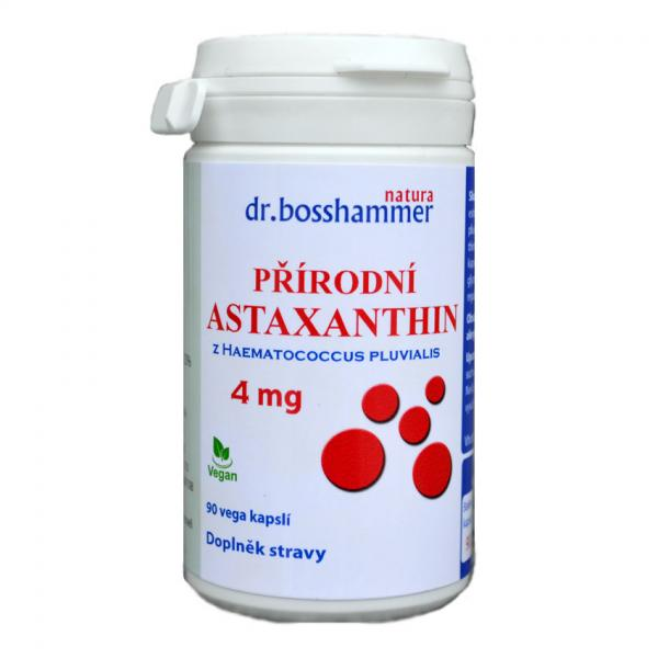 Astaxanthin 4 mg 90 kapslí